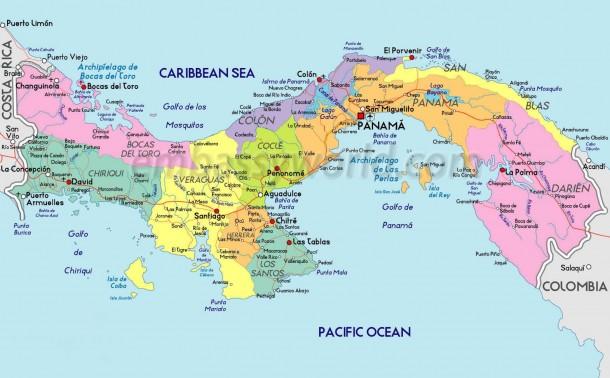 Карты Республики Панама