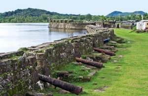 Colonial fort of Portobelo. Panama